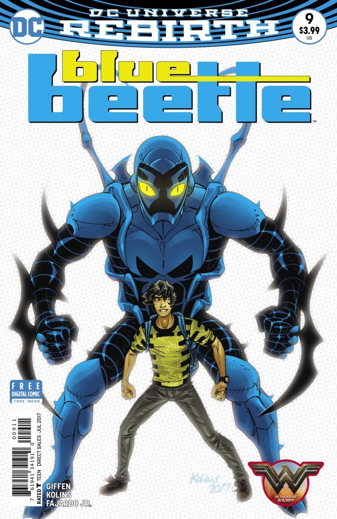 Blue Beetle #9 Review