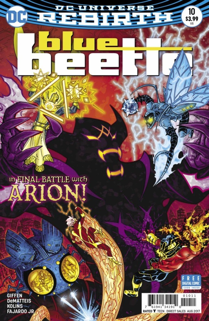 Blue Beetle #10 Review