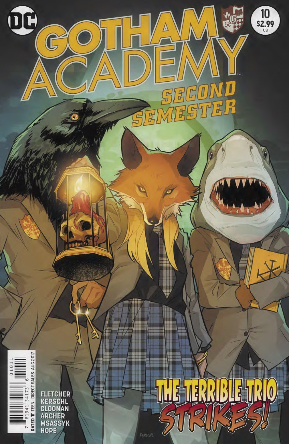 Gotham Academy Second Semester #10 Review