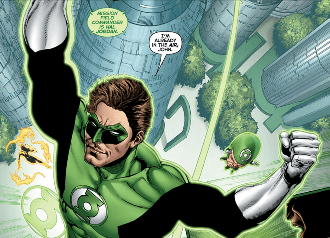 Hal Jordan and the Green Lantern Corps #22 Panel