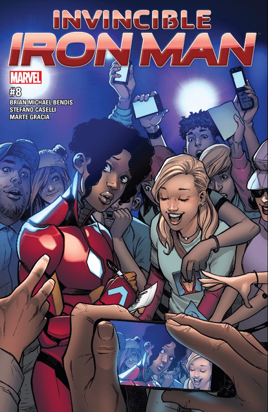 Invincible Iron Man #8 Review