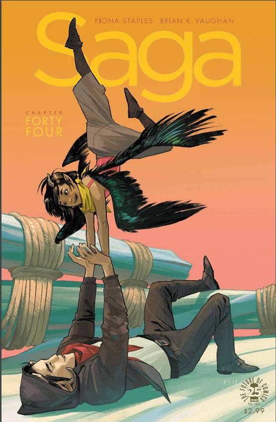 Saga #44 Review