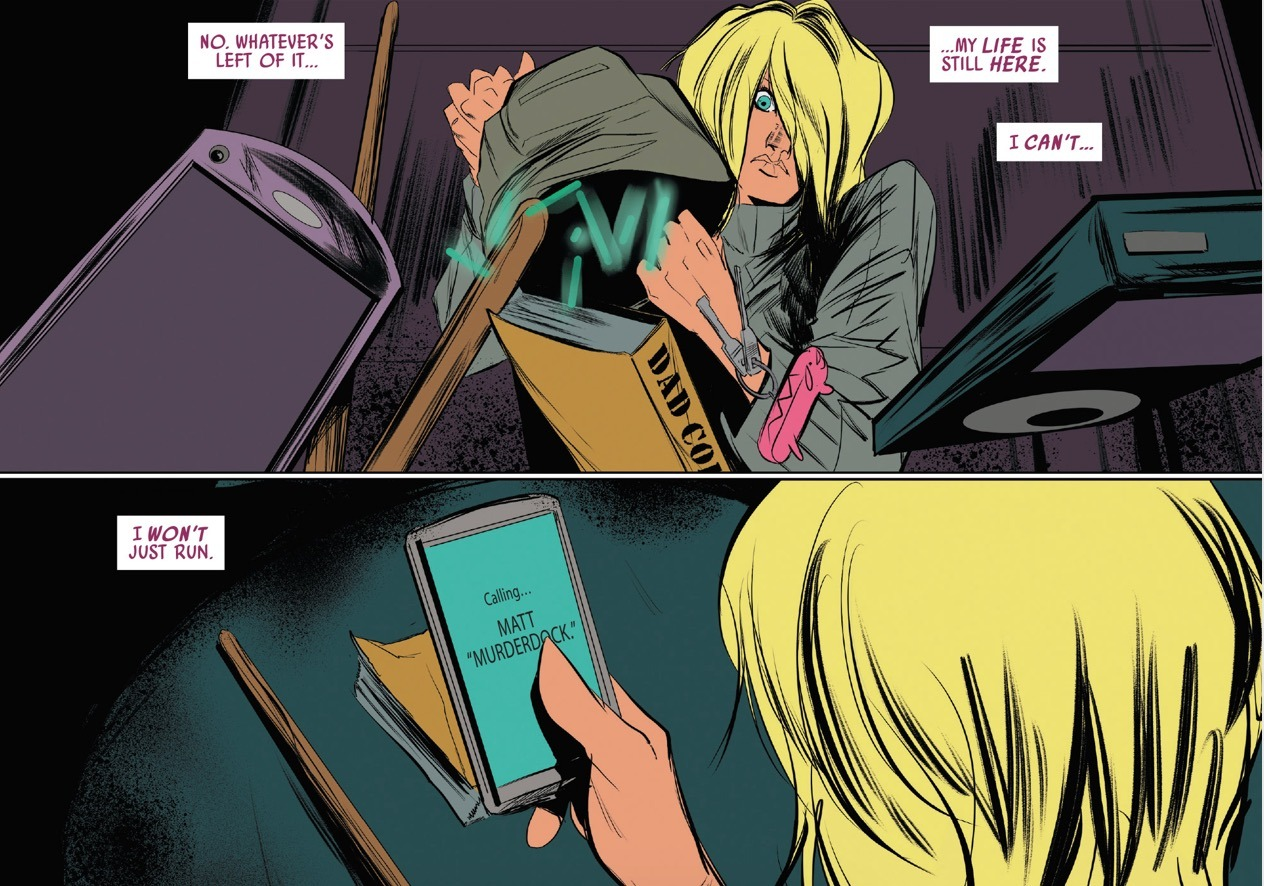 Spider-Gwen #21 Panel 1