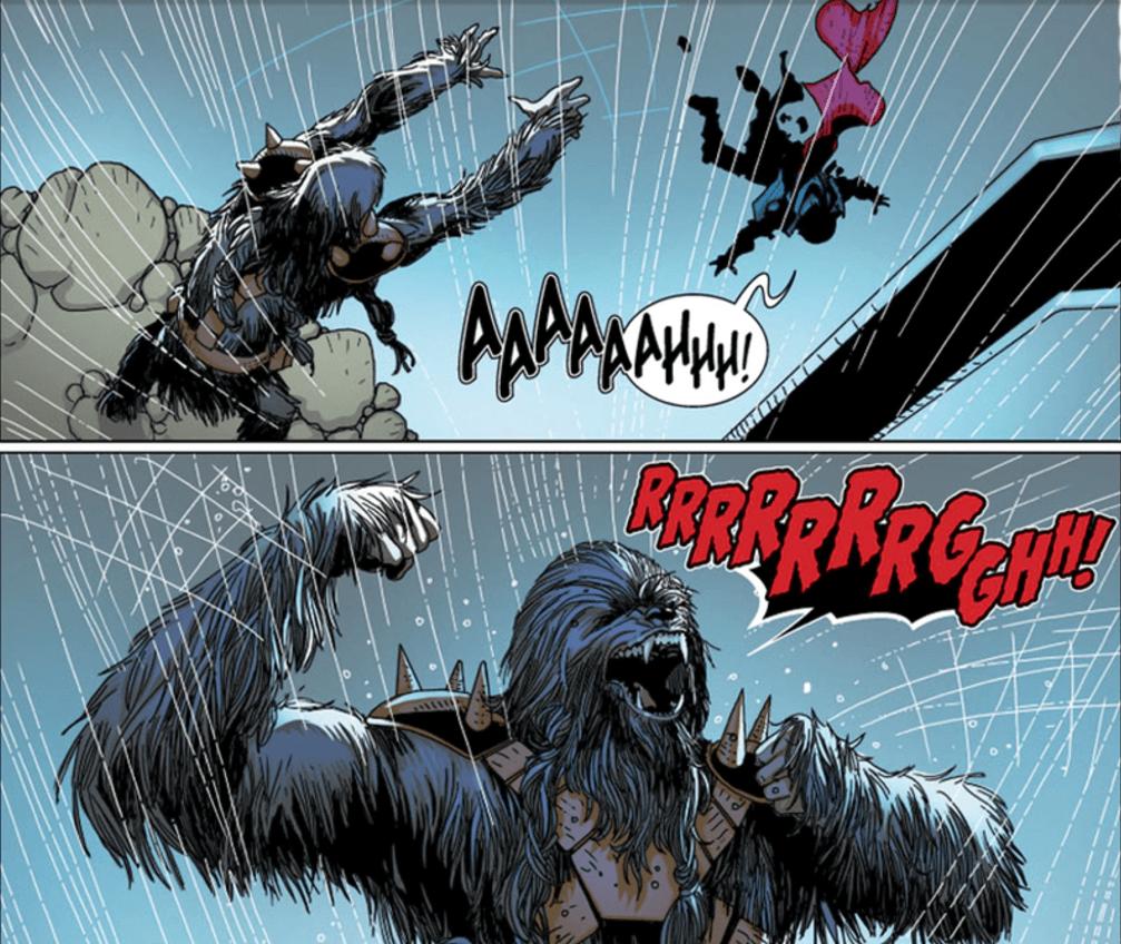 Star Wars #32 Panel
