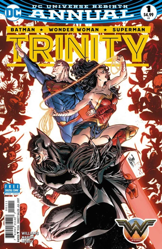Trinity Annual #1 Review: Three The Hard Way