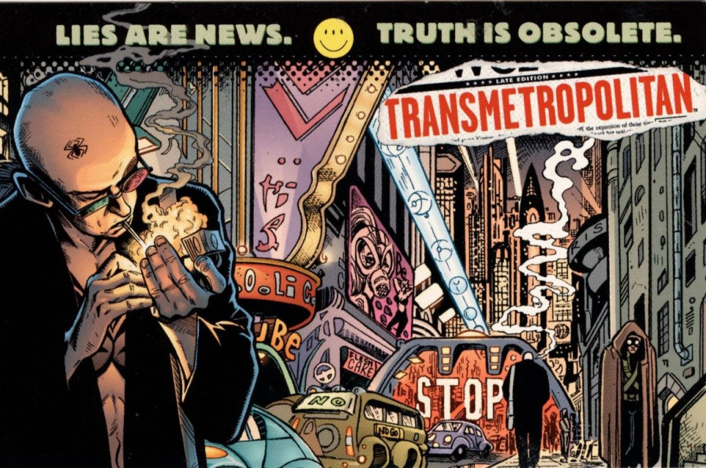 Transmetropolitan Is Your Handbook For Living in 2017 America