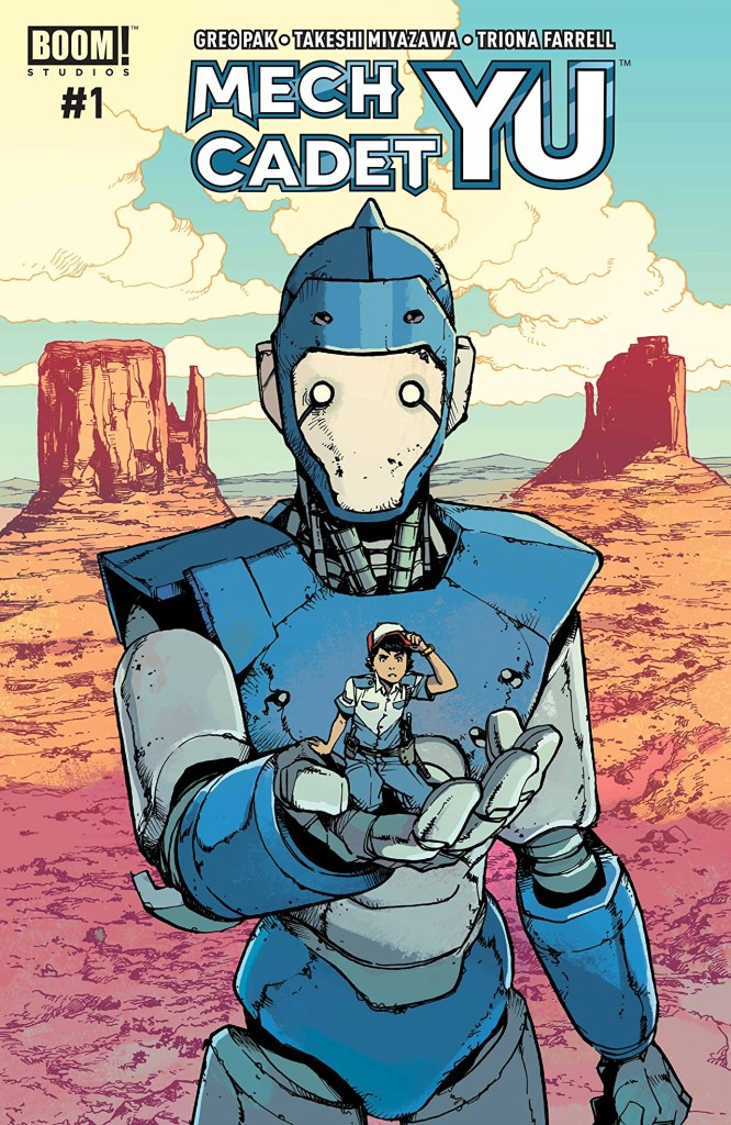 The Heartfelt, Coming of Age Comic With Robots That You Need is Mech Cadet Yu #1