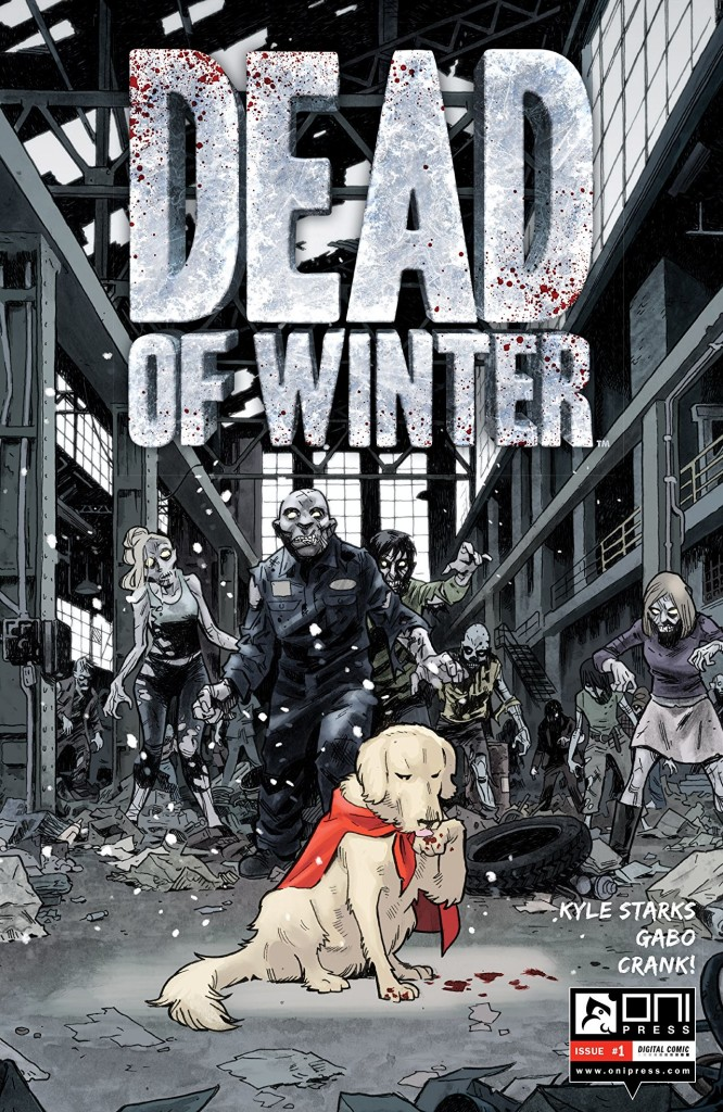 Sparky Is Man's Best Friend For The Zombie Apocalypse in Dead of Winter #1