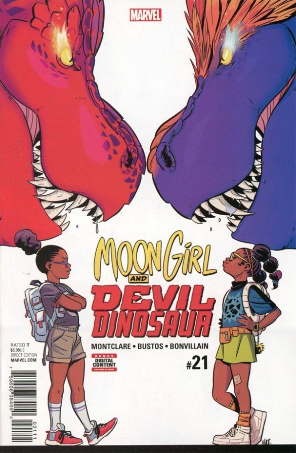 Moon Girl and Devil Dinosaur #21 Review