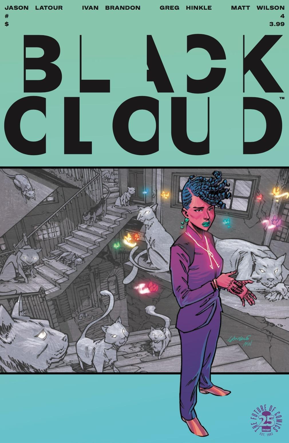 Black Cloud #4 Review