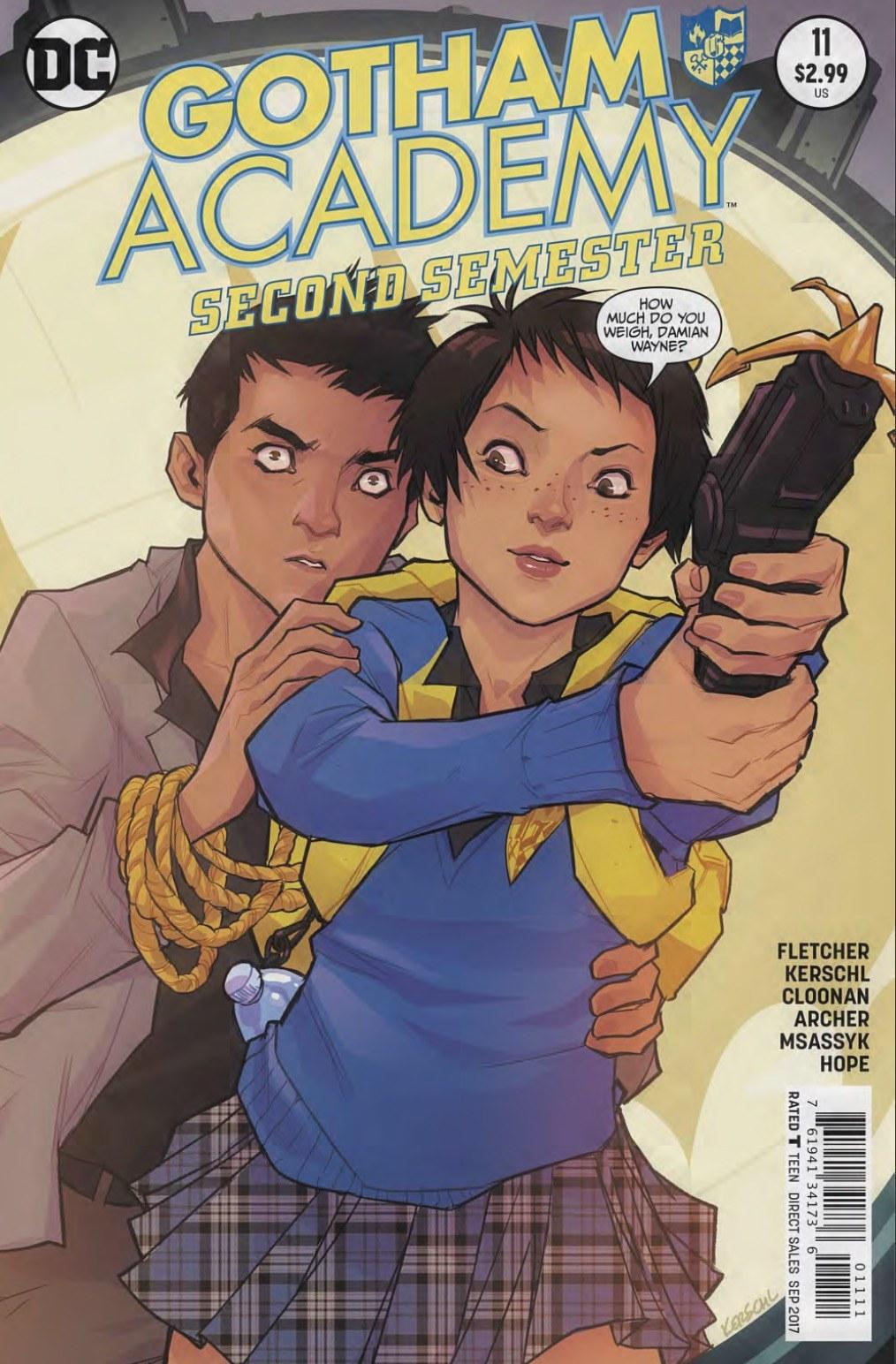 Gotham Academy Second Semester #11 Review