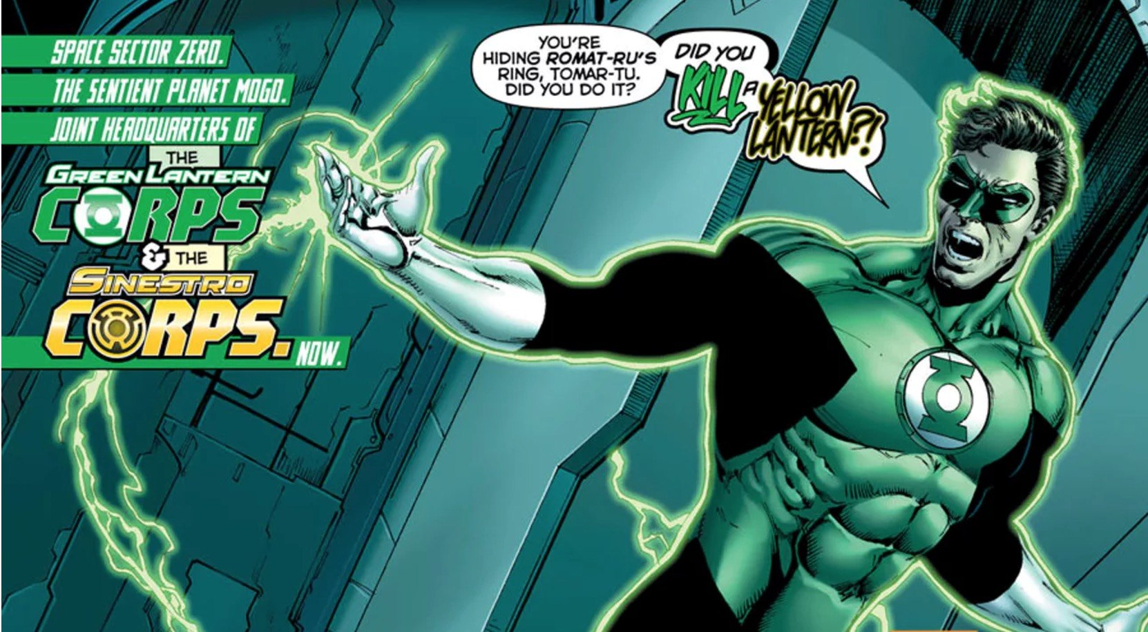Hal Jordan and the Green Lantern Corps #24 Panel