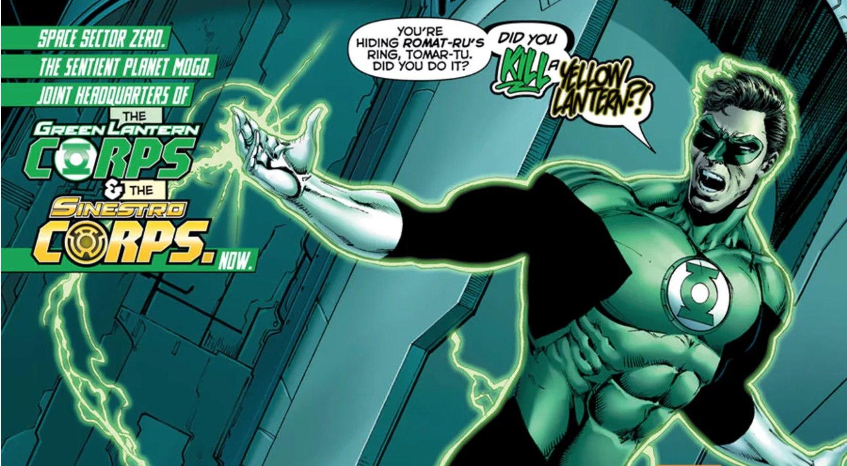 Hal Jordan and the Green Lantern Corps #24 Panel
