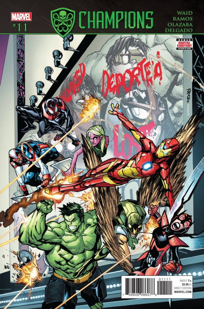 Champions #11 Review