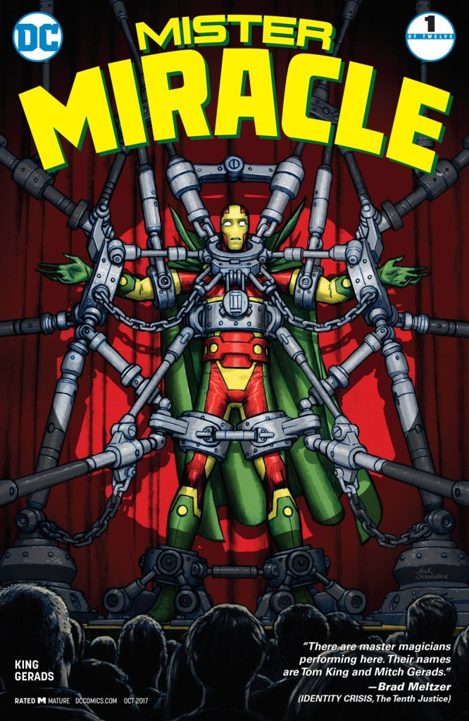 New God Flow, Fuck Everything Else: Mr. Miracle #1 Review