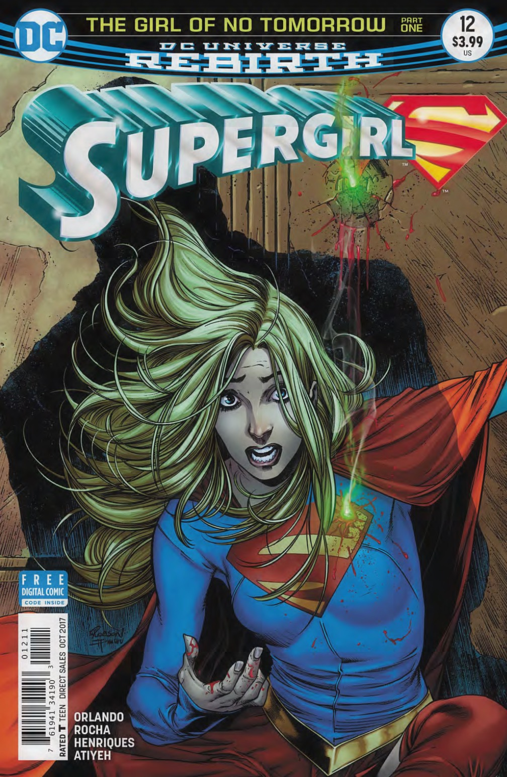 Supergirl #12 Review