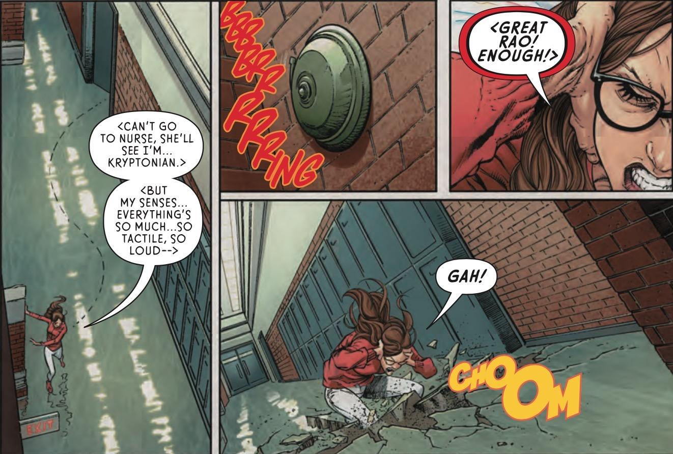 Supergirl #12 Panel 1
