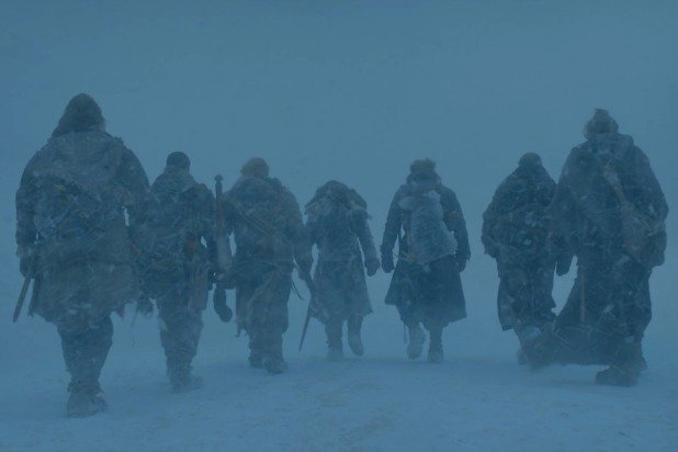 game-of-thrones-the-magnificent-seven-jon-snow-tormund-davos-gendry-the-hound-thoros-jorah-baric-eastwatch