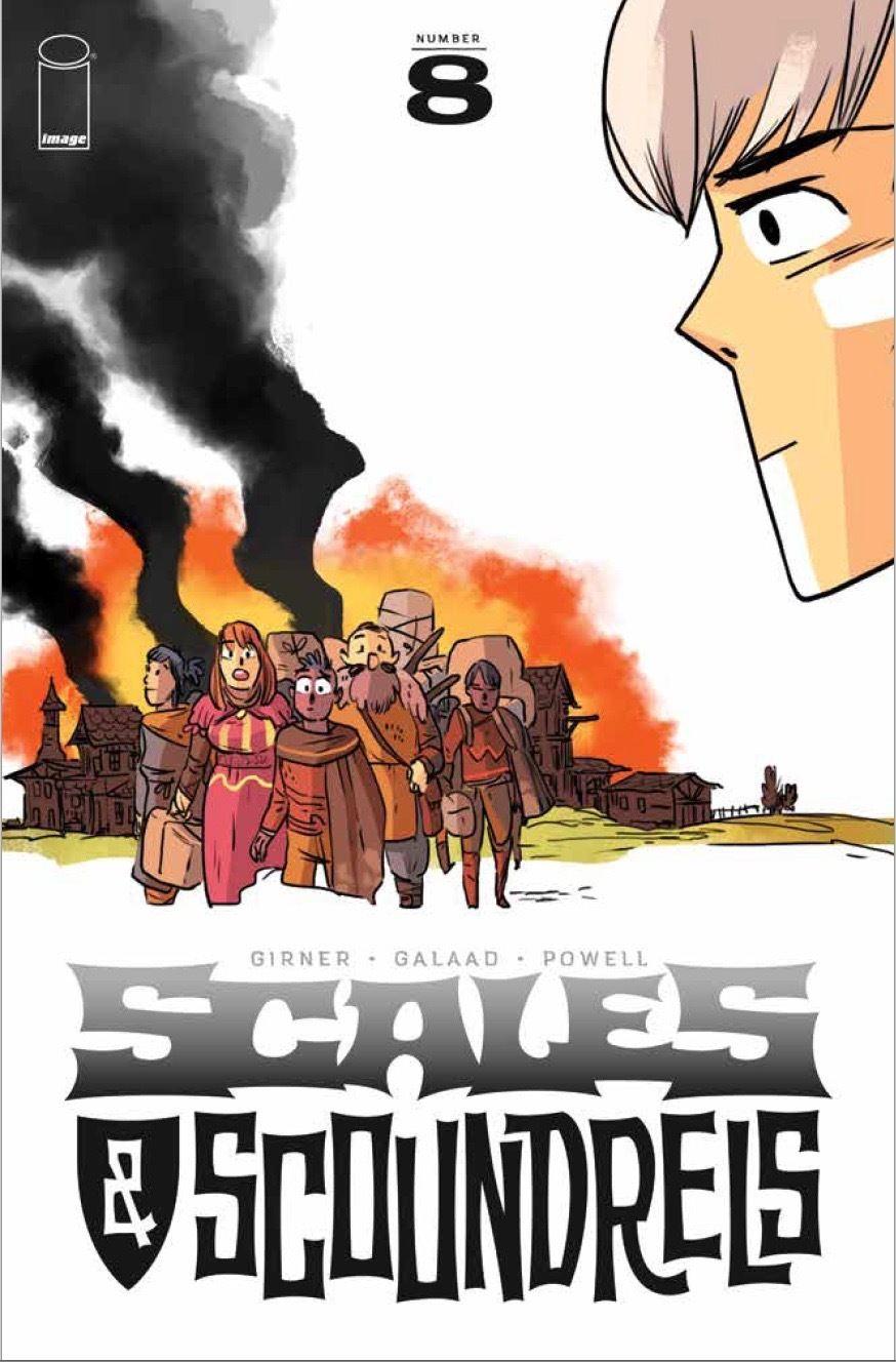 Scanes & Scoundrels #8