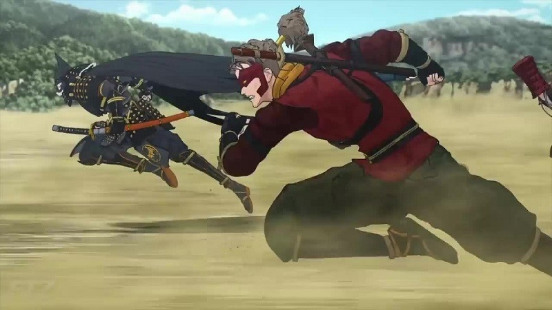 batman ninja is an entertaining and ridiculous journey with dc s