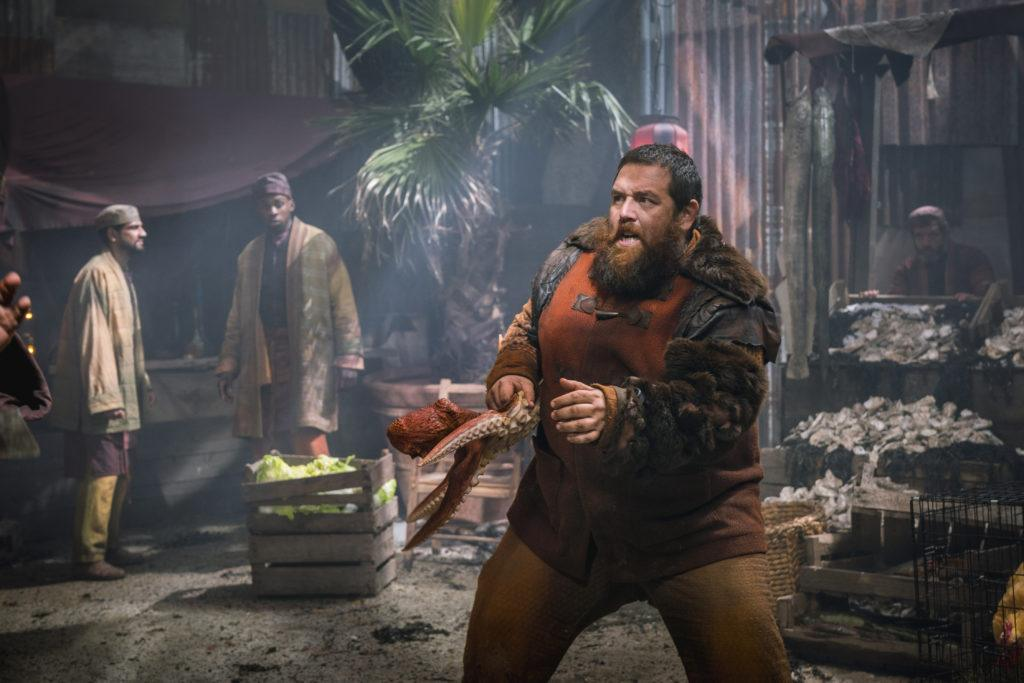 Into the Badlands Recap Black Winds Howl Black NerdNick Frost And Wife
