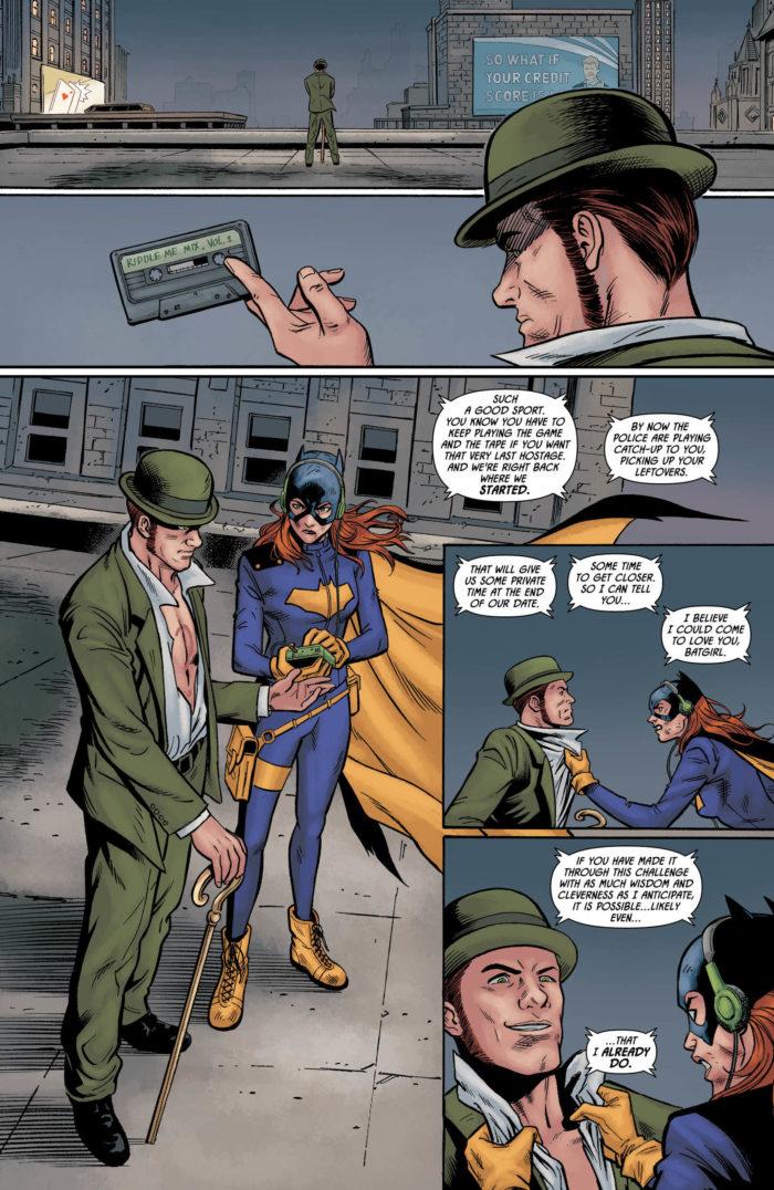 Batman: Prelude to the Wedding, Part 3 - Batgirl vs. The Riddler