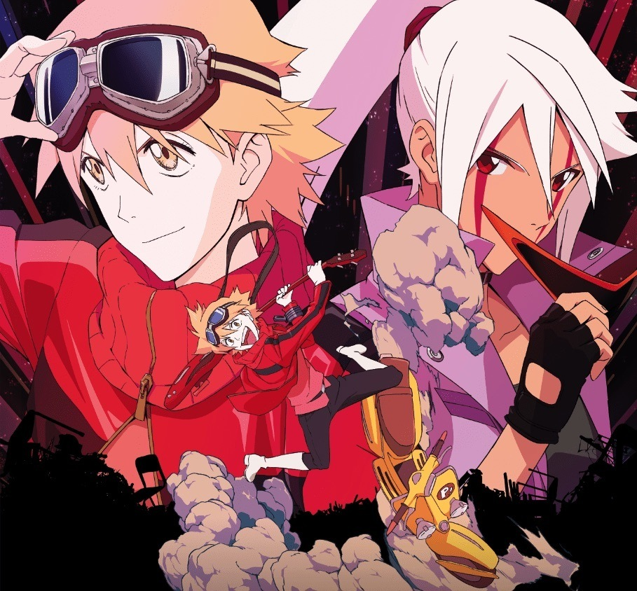 Back for another wild ride flcl progressive episode 1 for Another word for back