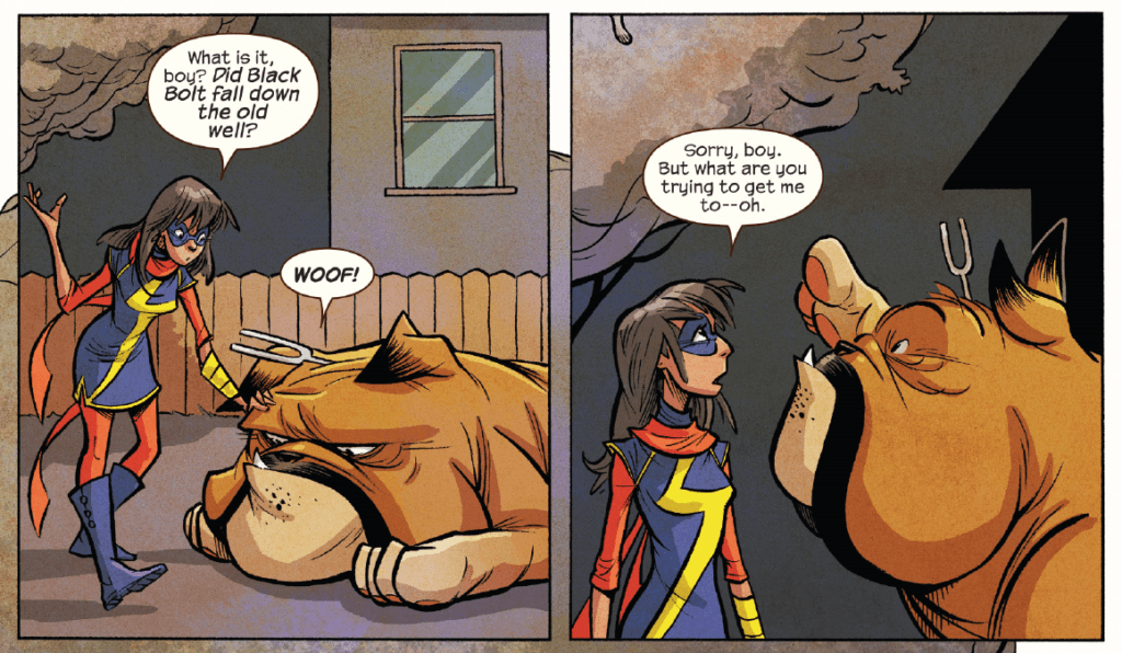 Kamala and Lockjaw