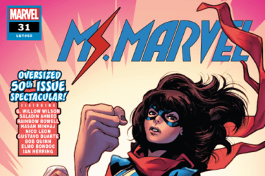 Ms Marvel Issue 50 cover