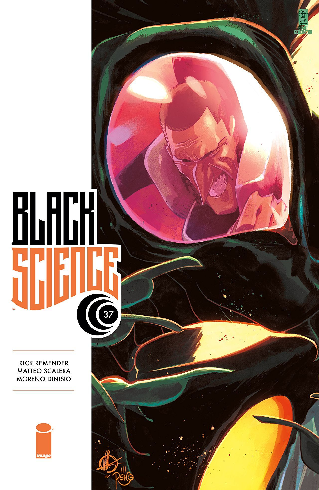 Black Science #37 from Image Comics.