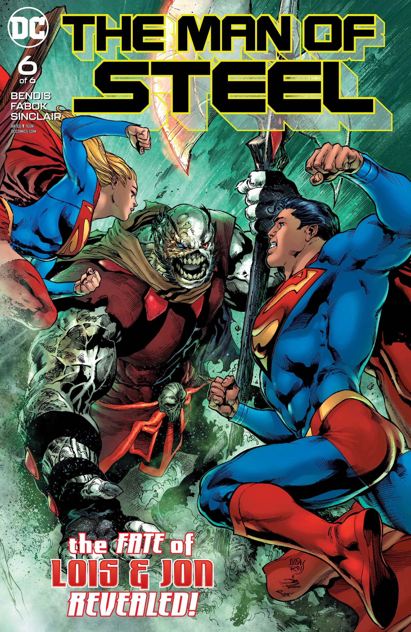 Man of Steel #6 Review - Black Nerd Problems