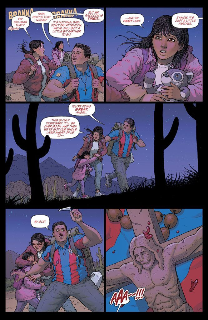 Border Town page 1