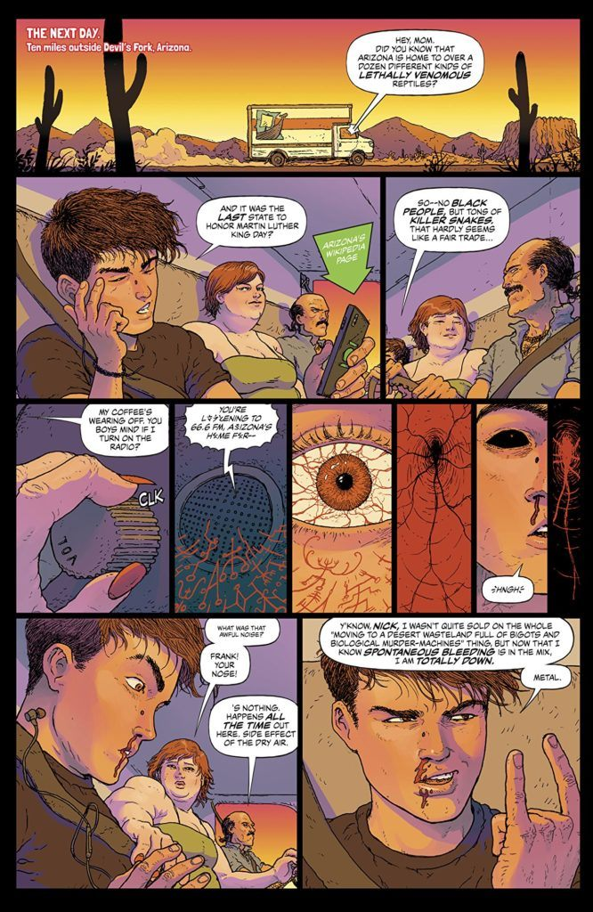 Border Town sample page 2