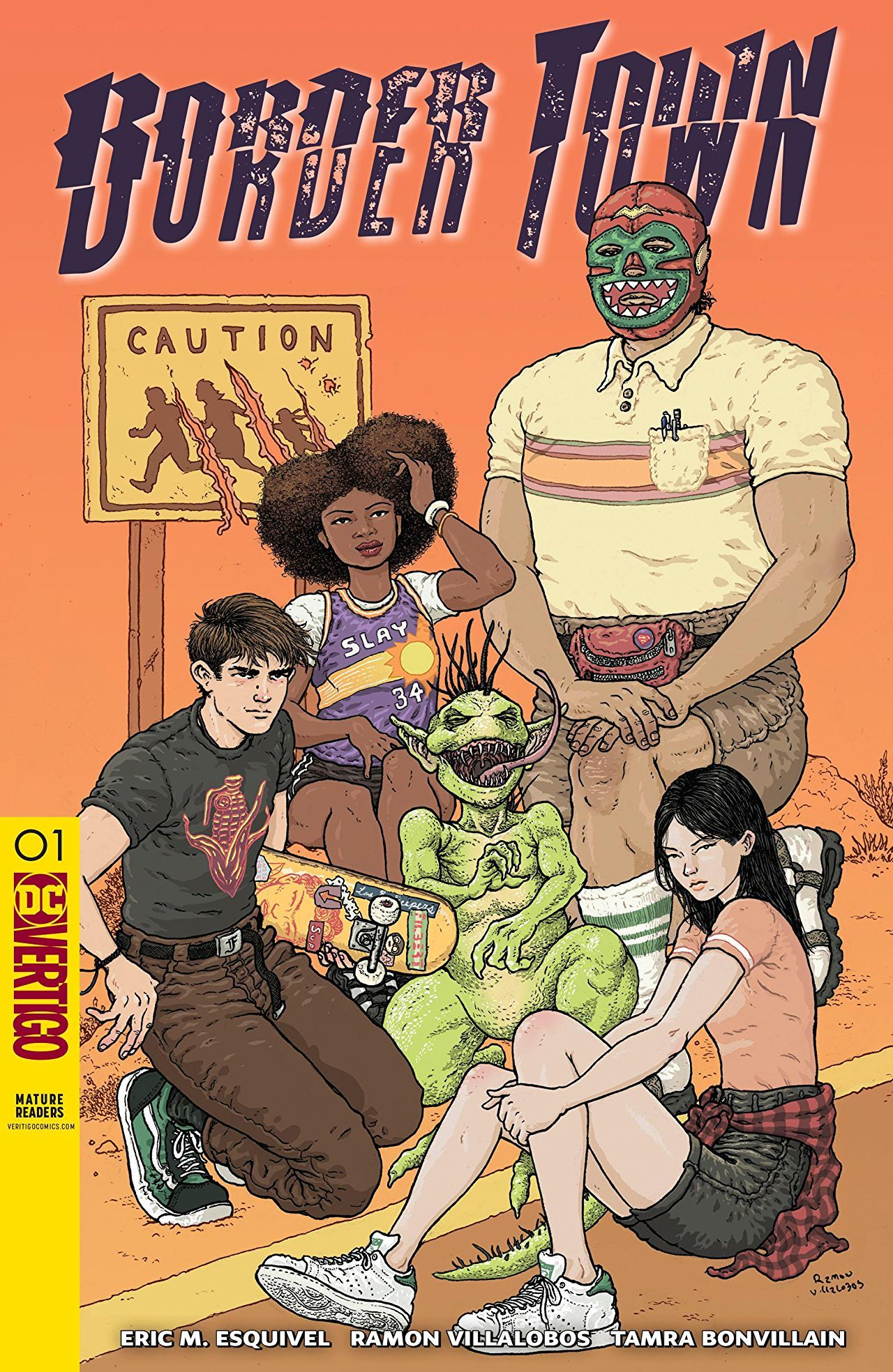Border Town #1 Cover
