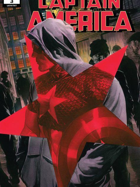 Captain America #3 Cover