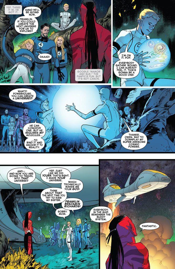 The Fantastic Four Family