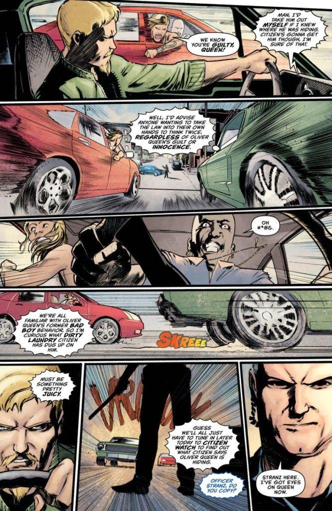 Green Arrow #44 interior