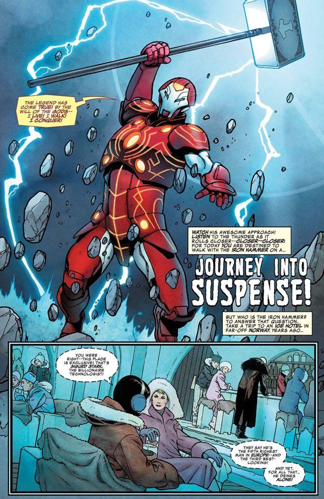 Iron Man: Iron Hammer #1