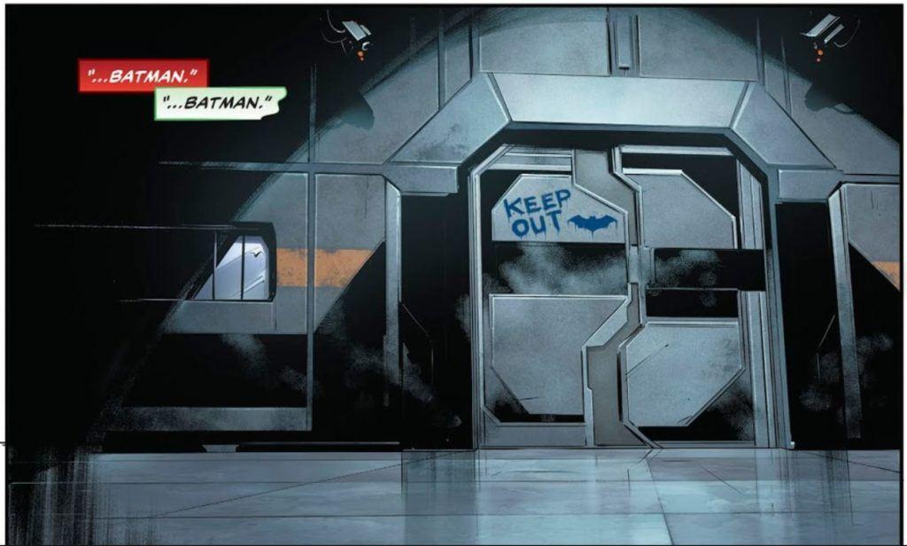 Batman's room