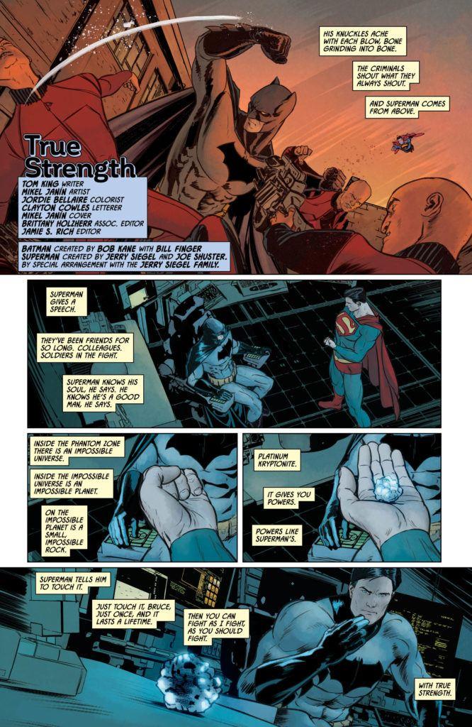 Batman Secret Files True Strength