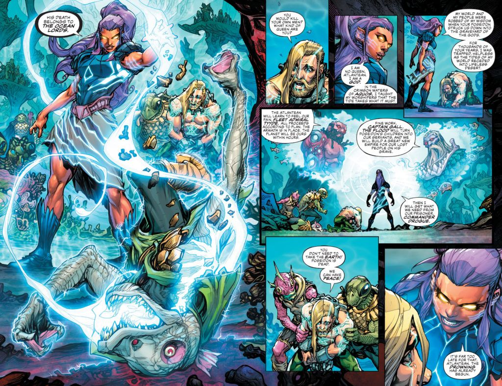 JL Drowned Earth #1