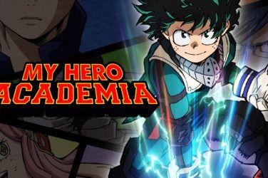 My Hero Academia Header