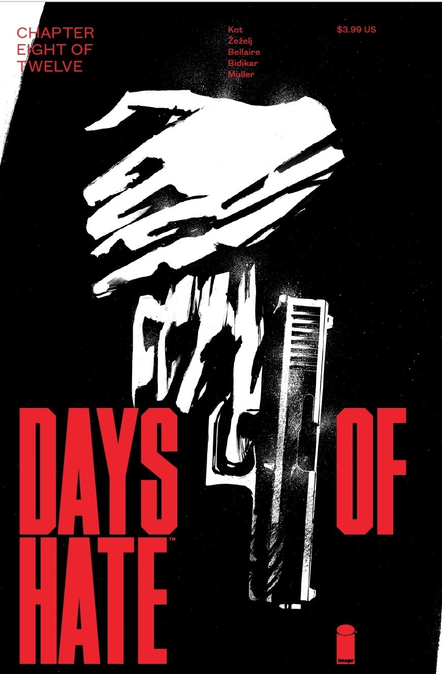 Days of Hate #8 cover