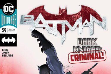 Cover of Batman #59