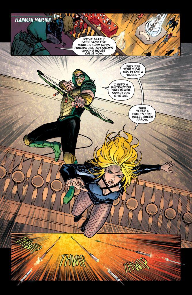 Green Arrow #46 Inside