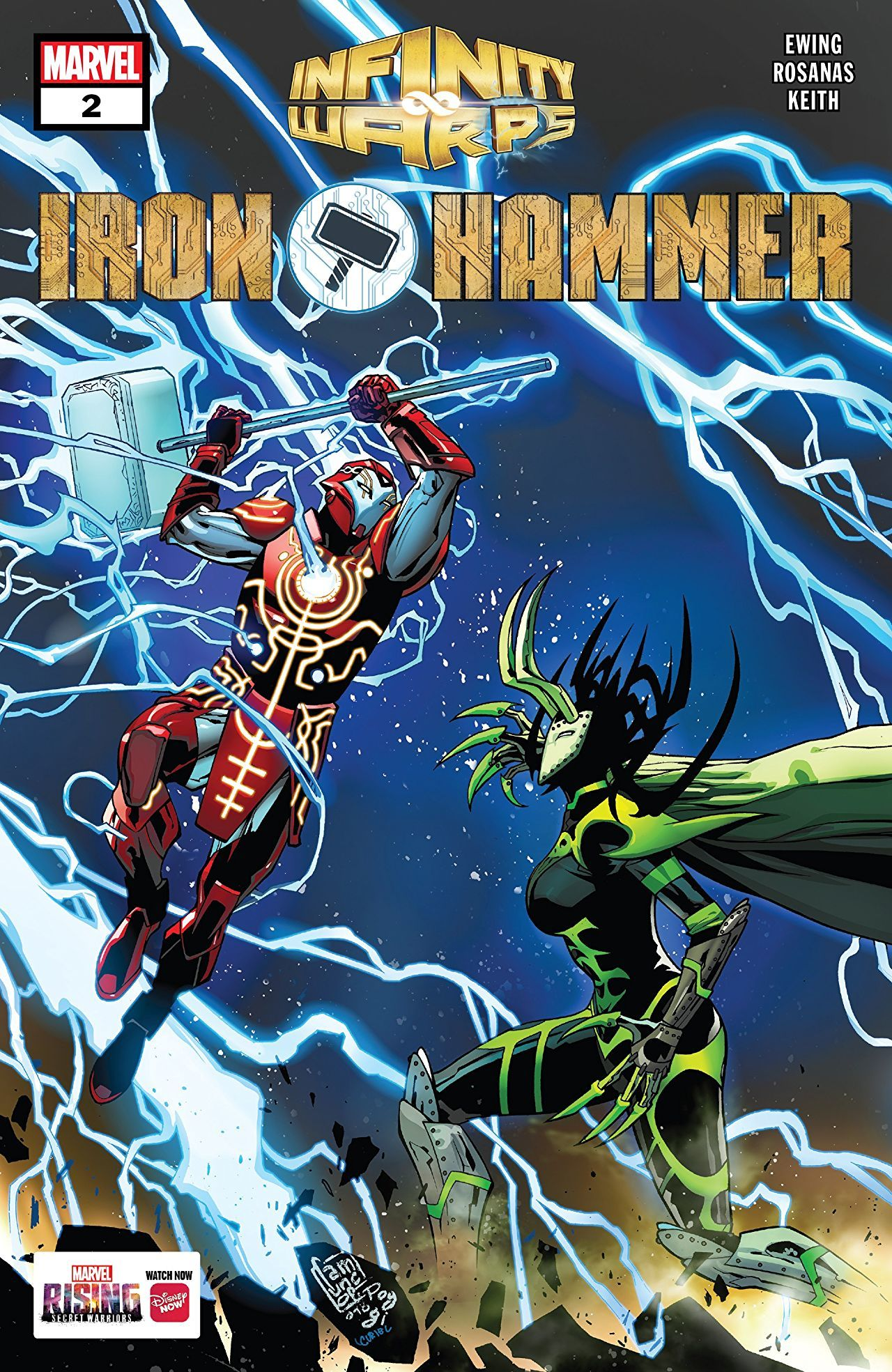 Iron Hammer #2 Cover