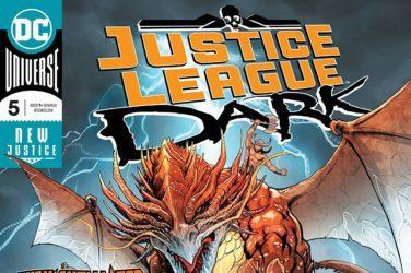 Justice League Dark #5 Cover