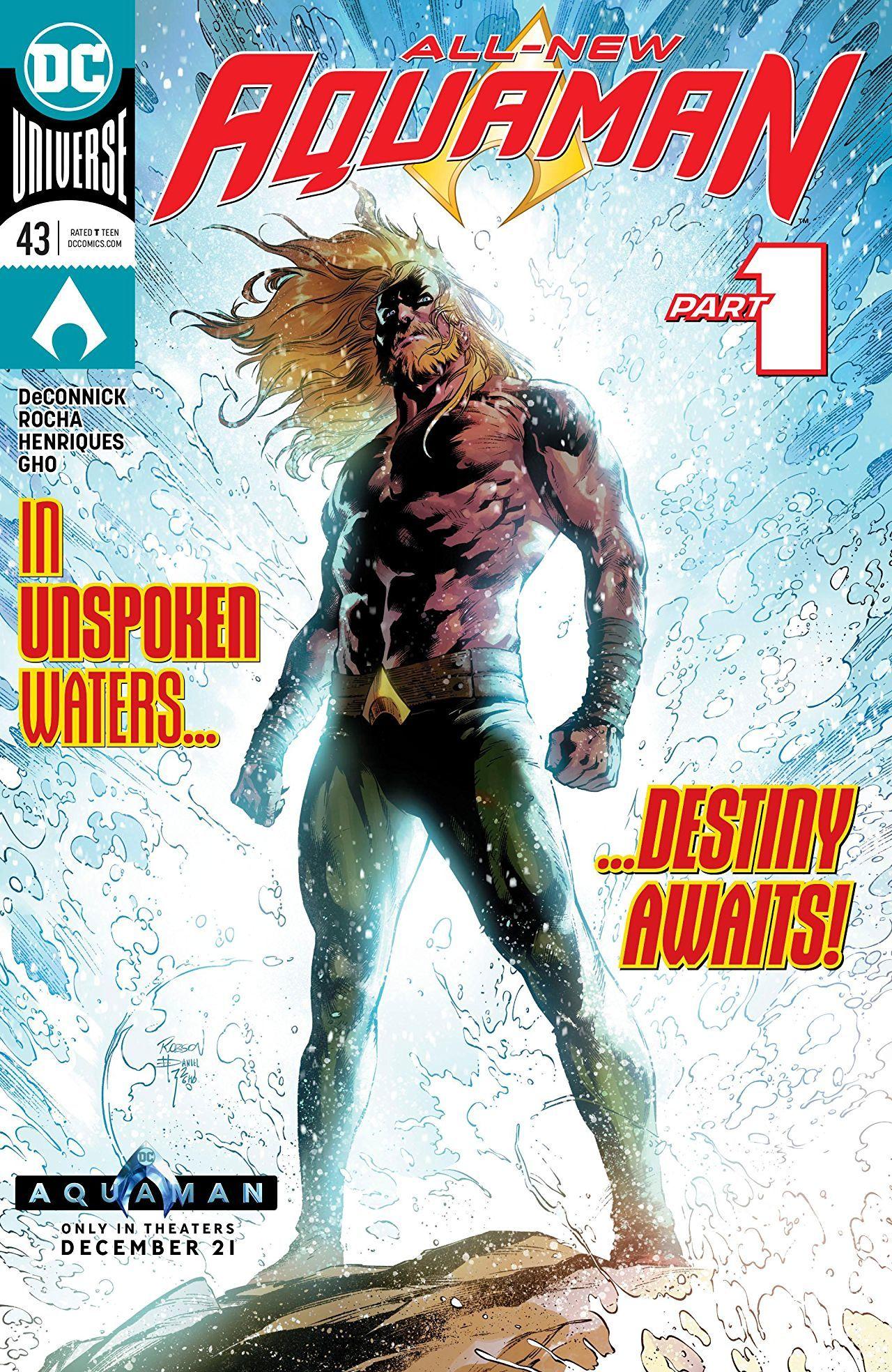 Aquaman #43 Cover