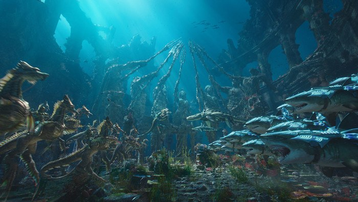 Underwater Setting from Aquaman