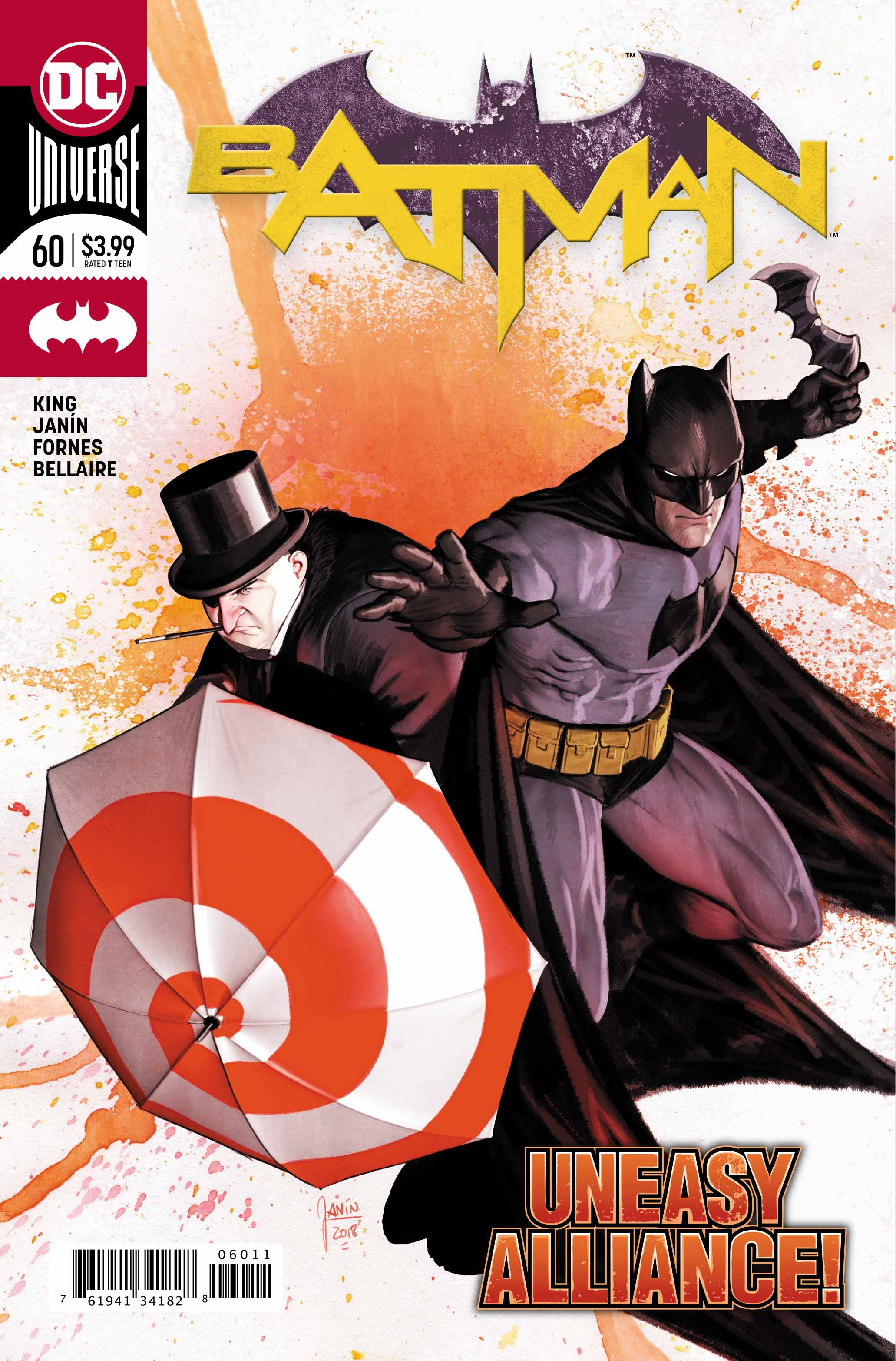 Batman #60 Cover